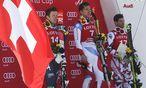 Carlo Janka gewinnt in Südkorea vor Christoph Innerhofer und Vincent Kreichmayr. / Bild: GEPA pictures
