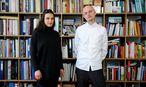 """Andreas Wesle und Anna Liska haben den diesjährigen Markenwettbewerb der Post AG und der """"Presse"""" gewonnen.  / Bild: Die Presse (Clemens Fabry)"""