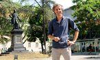 Der Organisator des Campus-Festivals: Bertram Schütz im Alten AKH. / Bild: (c) Die Presse (Clemens Fabry)