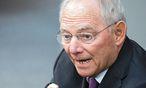 Der deutsche Finanzminister Wolfgang Schäuble / Bild: APA/EPA/BERND VON JUTRCZENKA