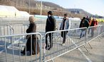Symbolbild: Flüchtlinge in Spielfeld / Bild: (c) Clemens Fabry (Presse)