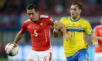 Österreich gegen Schweden / Bild: APA/ROLAND SCHLAGER