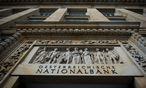 Nationalbank schließt drei Standorte  / Bild: Bloomberg