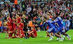 Der entscheidende Moment: Chelsea hat den Pott / Bild: (c) EPA (Thomas Eisenhuth)
