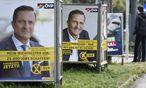 Wahlplakate in Wien / Bild: APA/HELMUT FOHRINGER