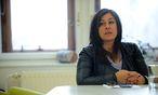 Archivbild: Vassilakou bei einem ''Presse''-Interview im Februar / Bild: Clemens fabry / Die Presse