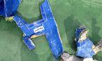 Wrackteile der im Mai abgestürzten Egytair-Maschine. / Bild: (c) Reuters