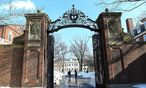 Die Tore der harvard-Universität in Boston / Bild: (c) imago/ZUMA Press