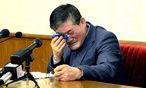 Kim Dong-Chul während seines Geständnisses. / Bild: REUTERS
