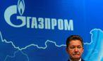 Gazprom-Vorstand Alexei Miller. / Bild: REUTERS/Maxim Shemetov/File Photo