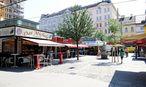 Der seit vielen Jahrzehnten bestehende Rochusmarkt ist das unumstrittene Zentrum des dritten Bezirks. / Bild: Clemens Fabry / Die Presse