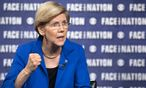 Senator Elizabeth Warren (D-MA) talks with Bob Schieffer on ´Face the Nation´ in Washington / Bild: (c) REUTERS (HANDOUT)