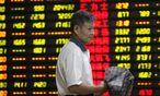Die Stützungsmaßnahmen der chinesischen Regierung haben anscheinend versagt. / Bild: (c) APA/EPA/WOO HE (WOO HE)