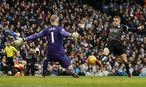 Jamie Vardy traf gegen Man City nicht, verlängerte aber seinen Vertrag bis 2019. / Bild: REUTERS