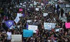 Auch Menschen in Mexiko City solidarisierten sich. / Bild: REUTERS/Edgard Garrido