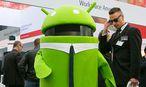 Beliebt: Googles Android / Bild: Bloomberg