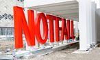 Unklarheiten orteten die Prüfer etwa bei Bauvorhaben des KAV (Im Bild die Baustelle für das Krankenhaus Nord) / Bild: Fabry / Die Presse