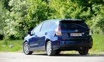 Platz für sieben, man kann zwei Sitzreihen aber auch umlegen: Toyota Prius+. / Bild: (c) Die Presse (Clemens Fabry)
