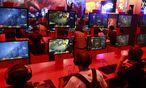 Gamescom VideospielMesse Koeln eroeffnet / Bild: (c) REUTERS (� Ina Fassbender / Reuters)