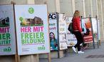 Koalitionsbildung ÖH / Bild: (c) Die Presse (Clemens Fabry)