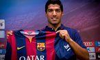 Luis Suárez gibt sein Debüt für Barcelona. / Bild: (c) GEPA pictures