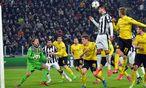 Morata will mit Juventus hoch hinaus und in Dortmunds Abwehr Unruhe stiften. / Bild: (c) EPA