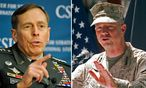 Ex-CIA-Chef Petraeus und General Allen / Bild: (c) APA/AP