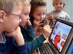 Kinder arbeiten am Computer / Bild: (c) dpa/dpaweb (Wolfgang Thieme)