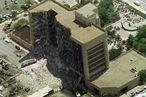 Das Murrah Building in Oklahoma nach dem Anschlag. / Bild: (c) Reuters (Jeff Mitchell)