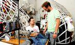 Gebrüder Stitch: Moriz Piffl, Michael Lanner / Bild: (c) Die Presse (Gabriele Paar)