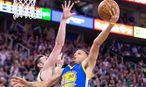 Unnachahmlich: Stephen Curry.  / Bild: USA Today Sports