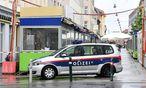 Archivbild: Polizei am Tatort  / Bild: APA/HERBERT P. OCZERET