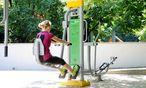 Training im Rochuspark im dritten Bezirk in Wien. / Bild: (c) Die Presse (Clemens Fabry)