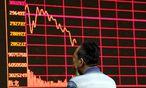 Seit Mitte Juni ist der chinesische Aktienmarkt eingebrochen. / Bild: (c) REUTERS (JASON LEE)