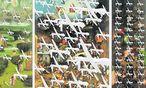 Wie moderne Erzengel fallen Drohnen ins Weltgerichts-Triptychon ein: eine Hommage an Bosch, 500 Jahre nach seinem Tod, vom Zagreber Künstler Ivica Capan. / Bild: (c) Capan