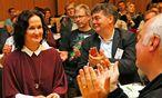 Eva Glawischnig / Bild: (c) APA/GERT EGGENBERGE