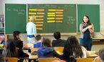 Der gemeinsame Unterricht von NMS- und AHS-Lehrern ist zwar vom Bund gewünscht, bleibt oft aber die Ausnahme.  / Bild: (c) Die Presse (Clemens Fabry)