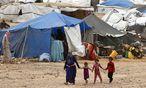 Flüchtlingslager in Syrien / Bild: REUTERS