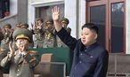 Archivbild: Nordkoreas Staatschef  Kim Jong-un / Bild: EPA