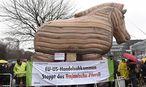 Demonstration von Gegnern des Wirtschaftsabkommens / Bild: imago/Kai Horstmann