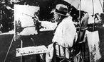 Winston Churchill beim Malen in der Schweiz / Bild: (c) imago stock&people