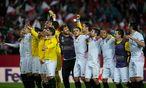Feierlaune bei Sevilla. / Bild: APA/AFP/JORGE GUERRERO