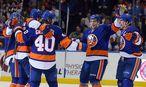 Michael Grabner und die Islanders jubeln / Bild: USA Today Sports