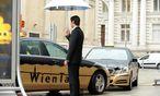Der Wiener Taximarkt bekommt die Registrierkassenpflicht deutlich zu spüren. / Bild: Die Presse