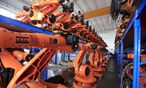 Roboter-Fabrik in China / Bild: (c) REUTERS (Aly Song / Reuters)