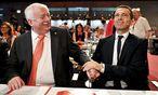 Wiens Bürgermeister Häupl und SPÖ-Kanzler Kern  / Bild: APA/HERBERT NEUBAUER