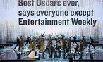 Bild aus der Oscar-Gala: MacFarlane weiß um seine Kritiker / Bild: (c) EPA (MATT BROWN)