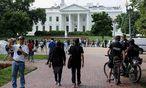 Secret Service und Polizei sind in Alarmbereitschaft.  / Bild: (c) APA/AFP/BRENDAN SMIALOWSKI (BRENDAN SMIALOWSKI)