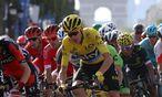 Christopher Froome im Gelben Trikot / Bild: APA/AFP/KENZO TRIBOUILLARD