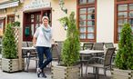 Edda Mayer-Welley, Wirtin und Obfrau der Bühnenwirtshäuser Niederösterreich / Bild: Die Presse/Akos Burg